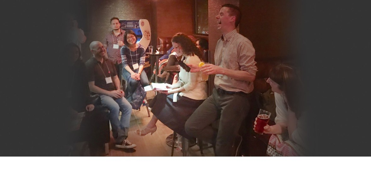 Photo courtesy Katey Howes from a NJ SCBWI conference